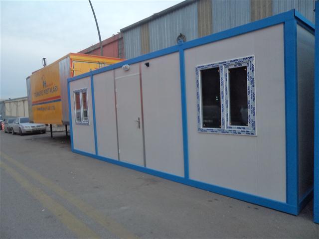 Bor-Ka Granit Ltd.�ti.2 Adet Tek Oda Konteyner 18/01/2014 de Teslim Edildi