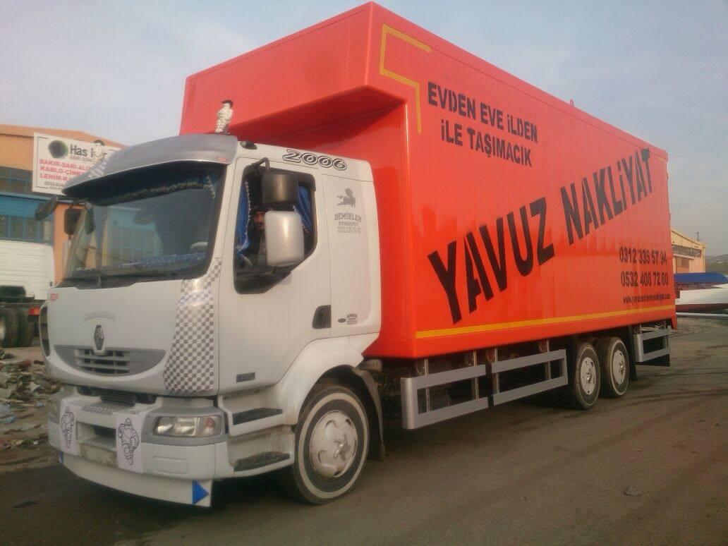 Yavuz Nakliyat a Yap�lan Kasa 20/01/2015 de Teslim Edildi