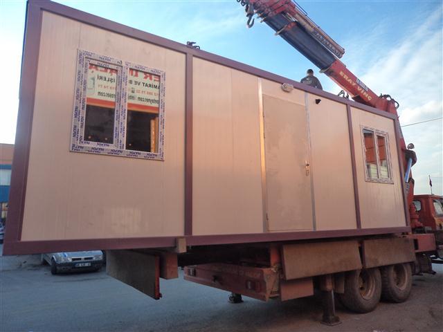 Bor-Ka Granit Ltd.�ti.ye 24/01/2014 de 2 Adet 3*7 Tek Oda Konteyner Teslim Edildi